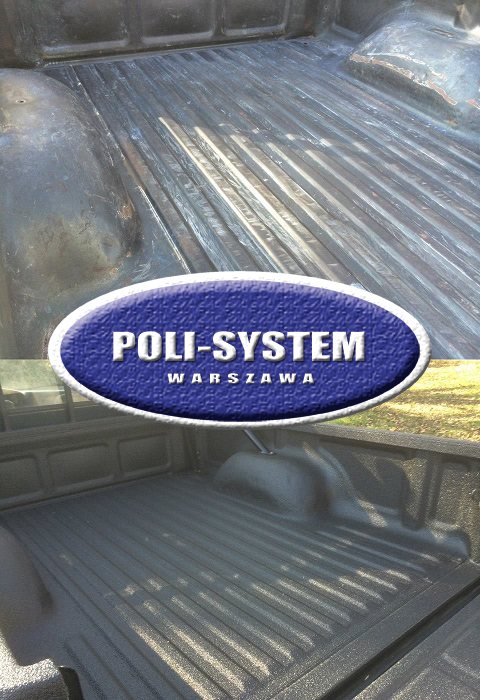 Powłoka do ochrony skrzyń ładunkowych pickup'ów i samochodów dostawczych przed uszkodzeniem i korozją