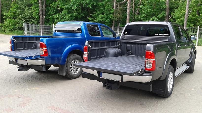 zabudowy pickup zamiast plastikowej kuwety
