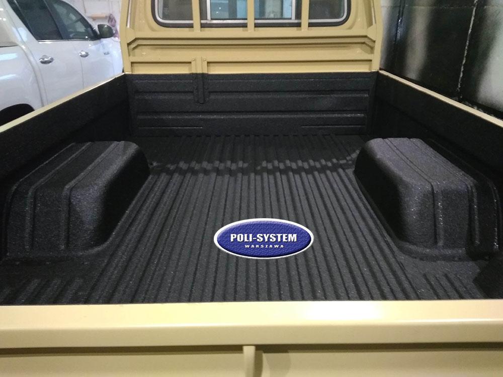 Ochrona paki pickup powłoką natryskową
